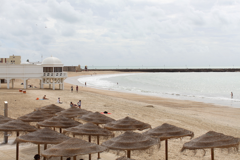 Playa la Caleta in Cádiz