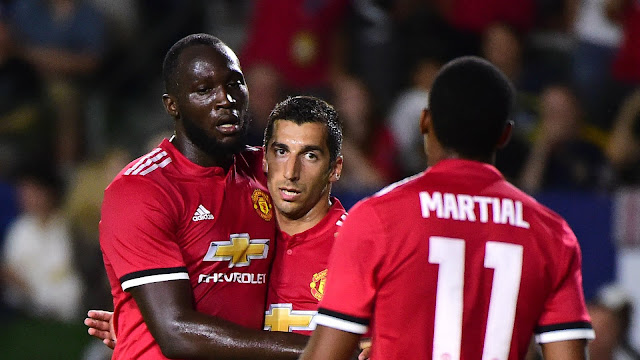Ini Alasan Mourinho Senang Dengan Lukaku