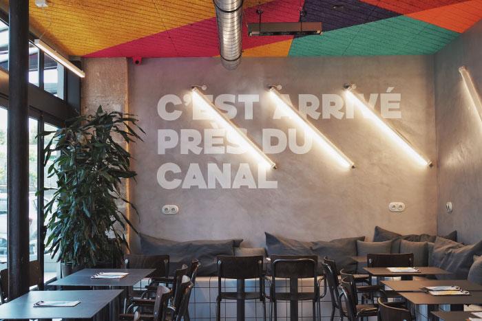 Restaurant BBP Canal à Paris