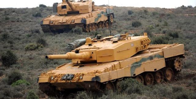 Η Γερμανία δεν ζητά καν από την Τουρκία να φύγουν τα Leopard 2A4 από την Κύπρο
