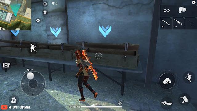 Training Room Free Fire Ada Mode Kill Musuh dan Revive Sendiri