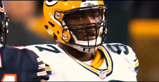 Kelly clark, green bay packers nose tackle