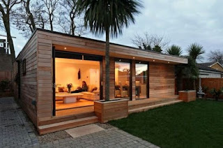 Imagenes Diseños modernos de cabañas modernas, pequeñas