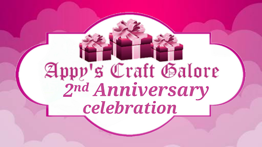 2nd Anniversary Celebration - GIVEAWAY
