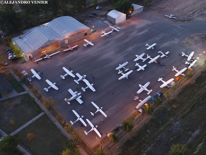 El Aero Club San Martín de la Provincia de Mendoza cumple sus bodas de brillantes