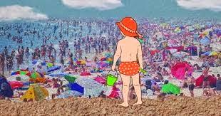 Bater Palmas Para Ajudar a Encontrar Criança Perdida Na Praia