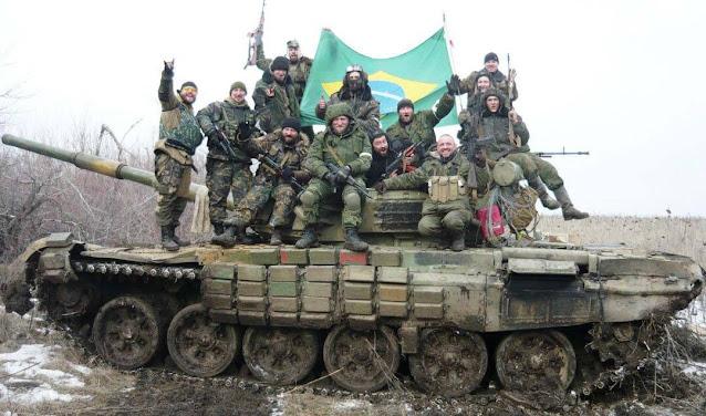 Brasileiros, guerra na Ucrânia