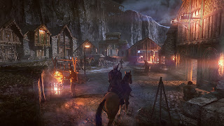 The Witcher 3 PS Vita Background