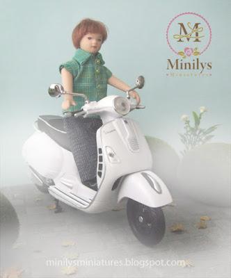 """""""minilys miniatures"""" """"garden"""" """"viaje en el tiempo"""" 1:12"""