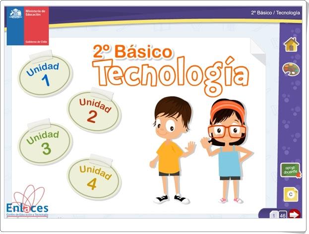 """""""Libro digital de Tecnología de 2º de Primaria"""" (Ciencias Naturales de Primaria)"""