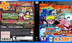 تحميل لعبة Naruto Shippuden Kizuna Drive psp iso مضغوطة لمحاكي ppsspp