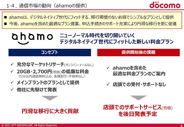 ahamoの店頭での有償サポートがドコモショップで4月22日より開始へ。スタッフが各種手続き等をサポート