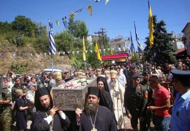 «Λαοθάλασσα» για τον Όσιο Ιωάννη τον Ρώσο: Χιλιάδες πιστοί θα ταξιδέψουν στο Προκόπι για να προσκυνήσουν!