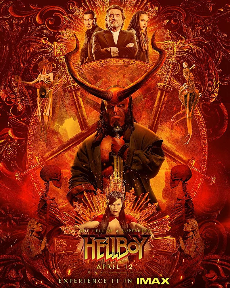 "Movie Poster 2019: Movie Review: ""Hellboy"" (2019)"