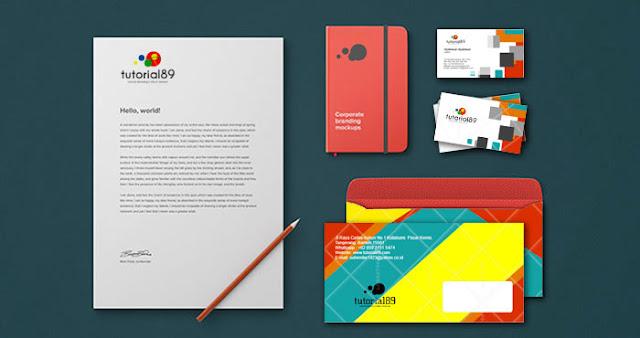 Cara mudah membuat logo, favicon, kartu nama, kop surat dan amplop via online