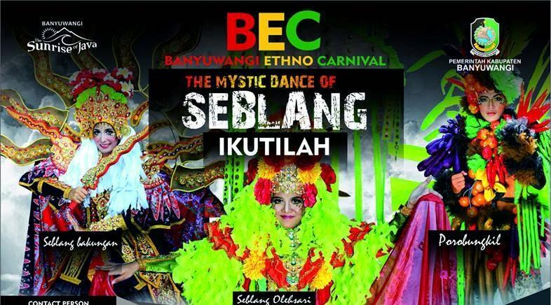 Banyuwangi Ethno Carnival 2014, tema The mystic dance of seblang.