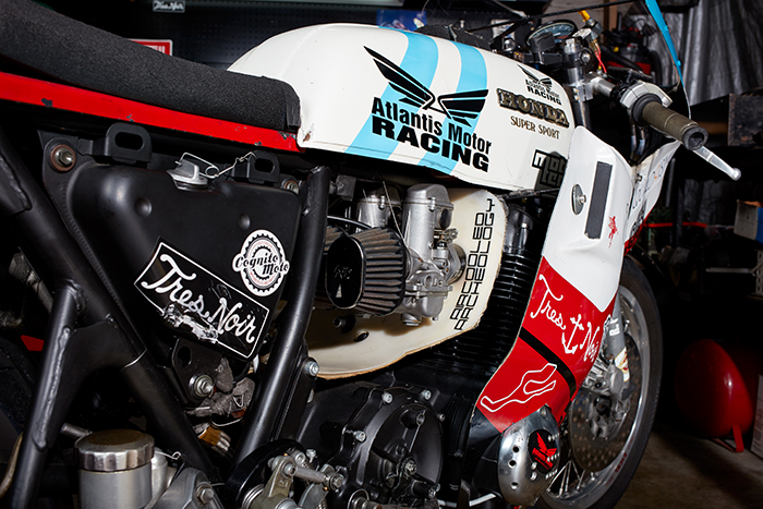 CB750 race bike