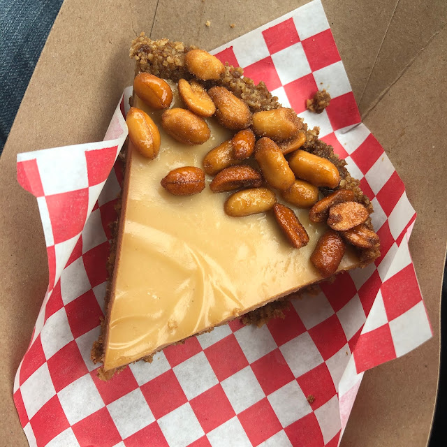 Heavenly Caramelized Peanut Butter Pie from Hot Hands Pie & Biscuit
