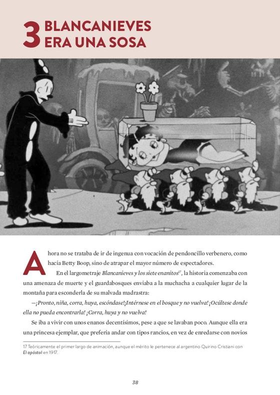 Animación: De Betty Boop a Tim Burton