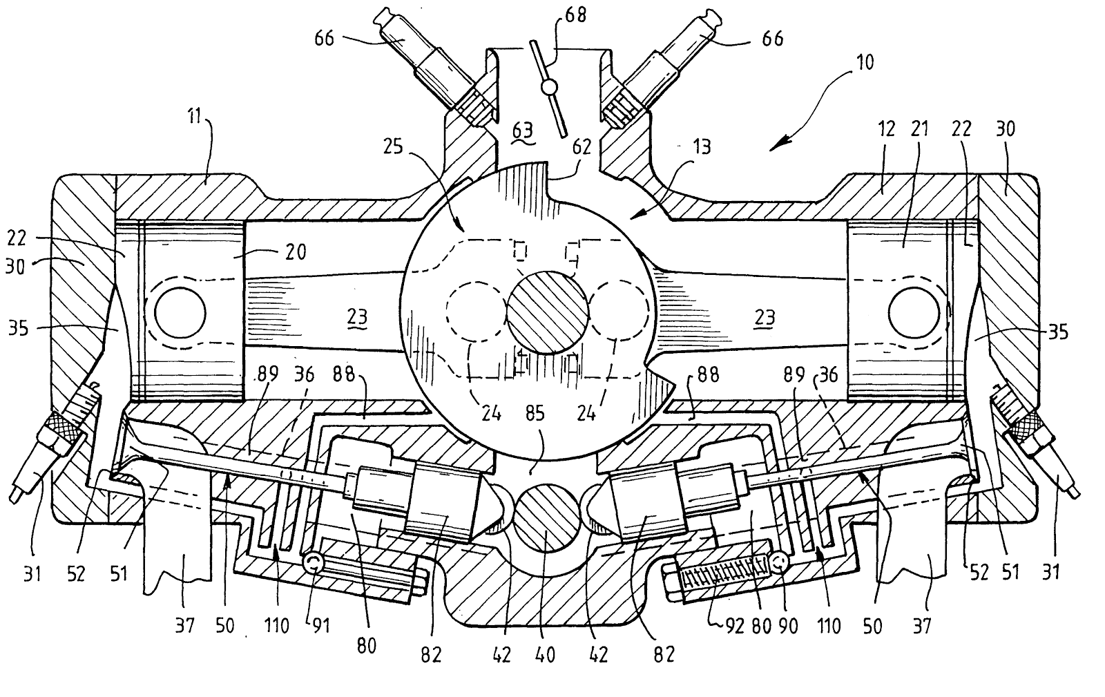 Paul Hallam's Ecoforce Engine Patent