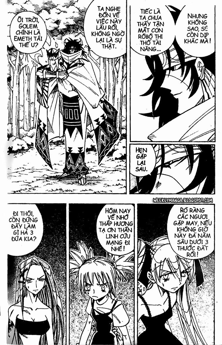 Shaman King [Vua pháp thuật] chap 161 trang 19