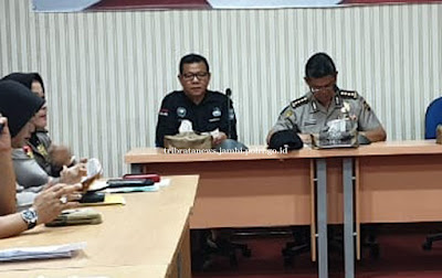 Karo SDM Polda Jambi Pimpin Rapat Pemantabpan Nonton Film Sang Prawira