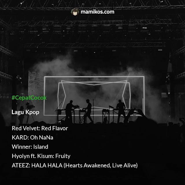 Playlist untuk Mengisi Sisa Liburmu Lagu Kpop