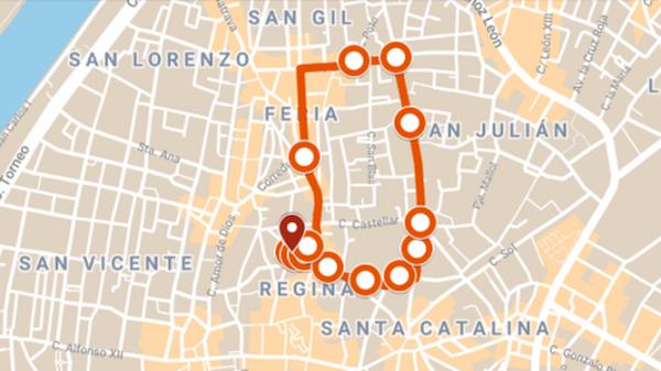 Itinerario y horario de la procesión de la Pastora de Santa Marina. Sevilla 19 de Septiembre del 2021