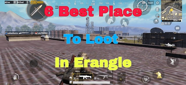 PUBG Mobile Best Loot Spot In Erangel | 2019