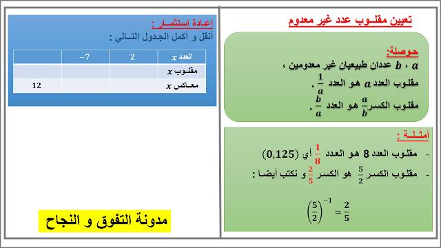 مدونة التفوق و النجاح - الأستاذ نمحمد أيمن