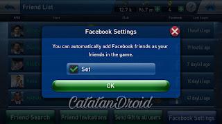 Cara Menambah Teman Facebook di Game PESCM
