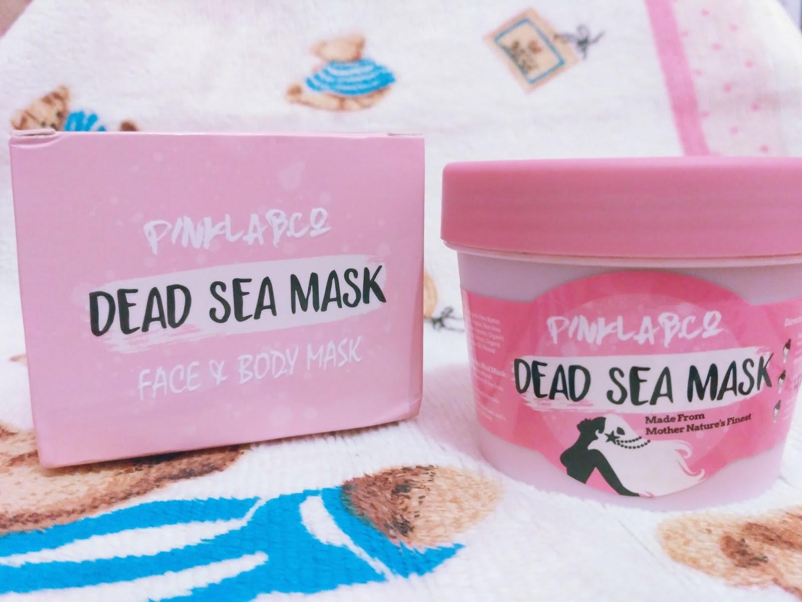 Review Pinklab Dead Sea Mask Untuk Bekas Jerawat