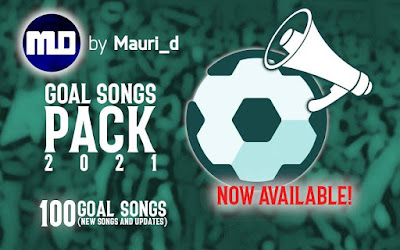 PES 2021 New Goal Songs Pack 2021 by Mauri_d