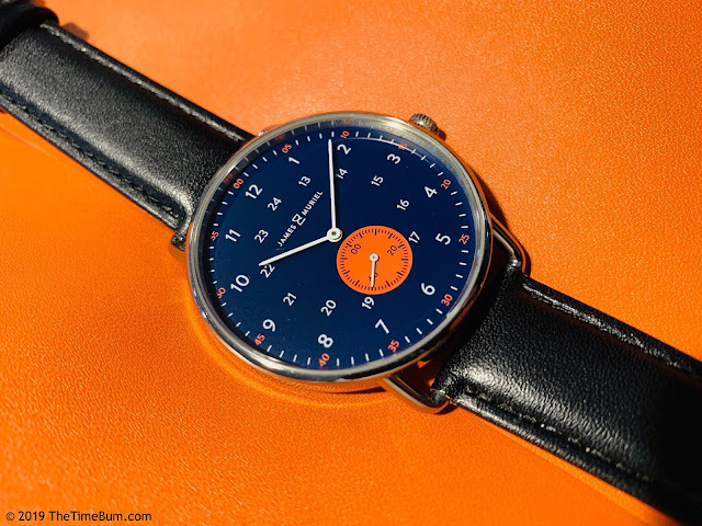 James & Muriel TimeKeeper Horizon Blue