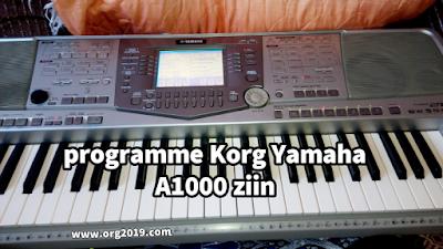 programme Korg Yamaha A1000 fih rbab amro ou brass E96 Set ziin a7la aswat