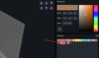 VoxEdit Color Palette