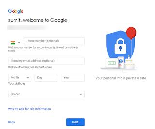 Gmail पर Email id कैसे बनाये