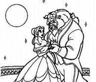 Disney Princess Belle Coloring Pages To Kids