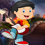 Games4King - G4K Jubilant Guitarist Escape Game