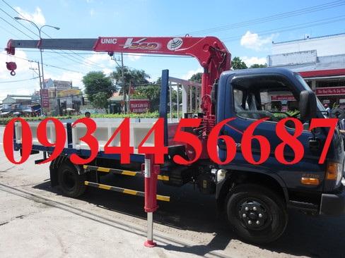 Giá xe cẩu 3 tấn Hyundai 110s thùng lửng