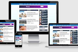 VioMagz Blogger Template Premium Version