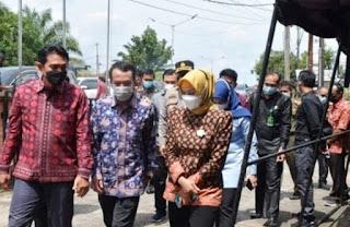 Bupati Batanghari Fadhil Arief Dampingi Pj Gubernur Jambi Kunjungi KPU Batanghari