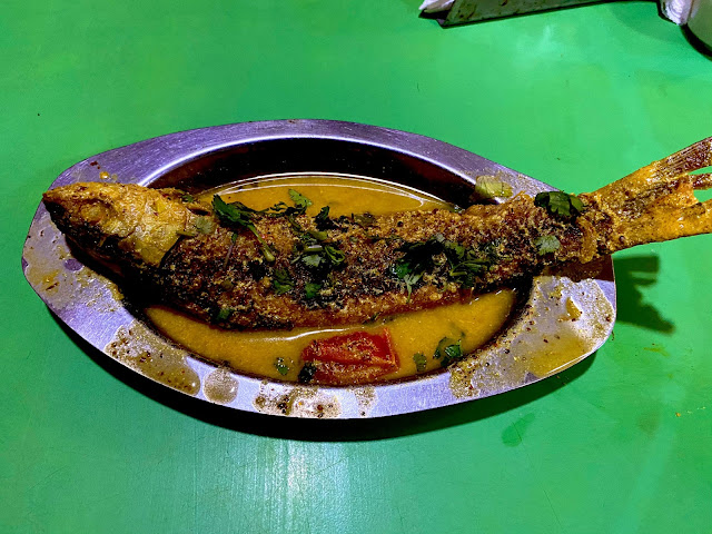 Yummy Single Fish Masla from Odiani Hotel at Panikoili near NH16