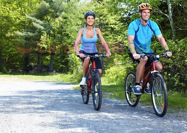 Bersepeda menyehatkan jantung koroner