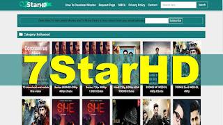 7Starhd 2020 - Illegal HD Movies Download Website