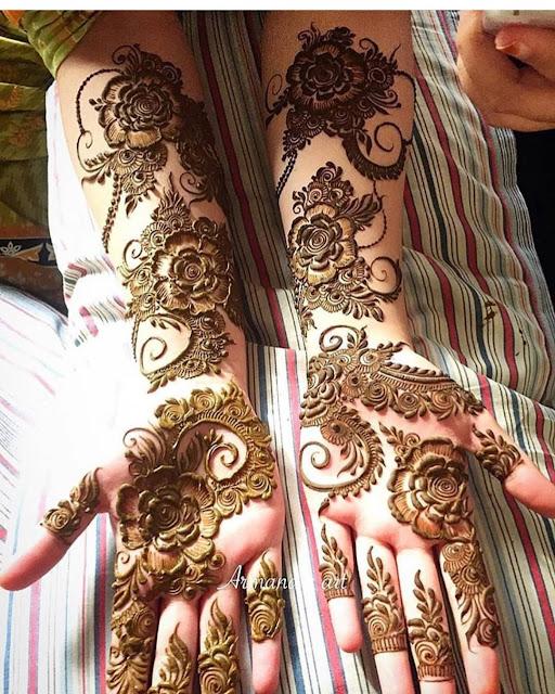 mehndi designs arabic picture