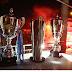 Το τρόπαιο του Πρωταθλήματος στο... σπίτι του - Φωτογραφίες από την υποδοχή της αποστολής της ΑΕΚ και από την... παράδοση της Κούπας