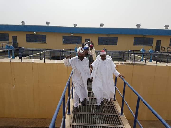 Governor Ganduje commissions 75 million liters water treatment facility in Kano