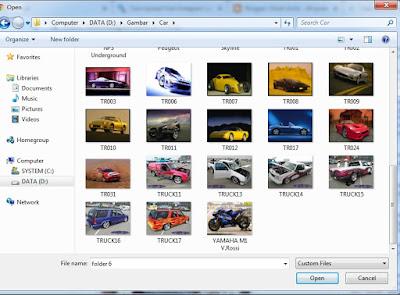 Pilihan Gambar di Galery PC