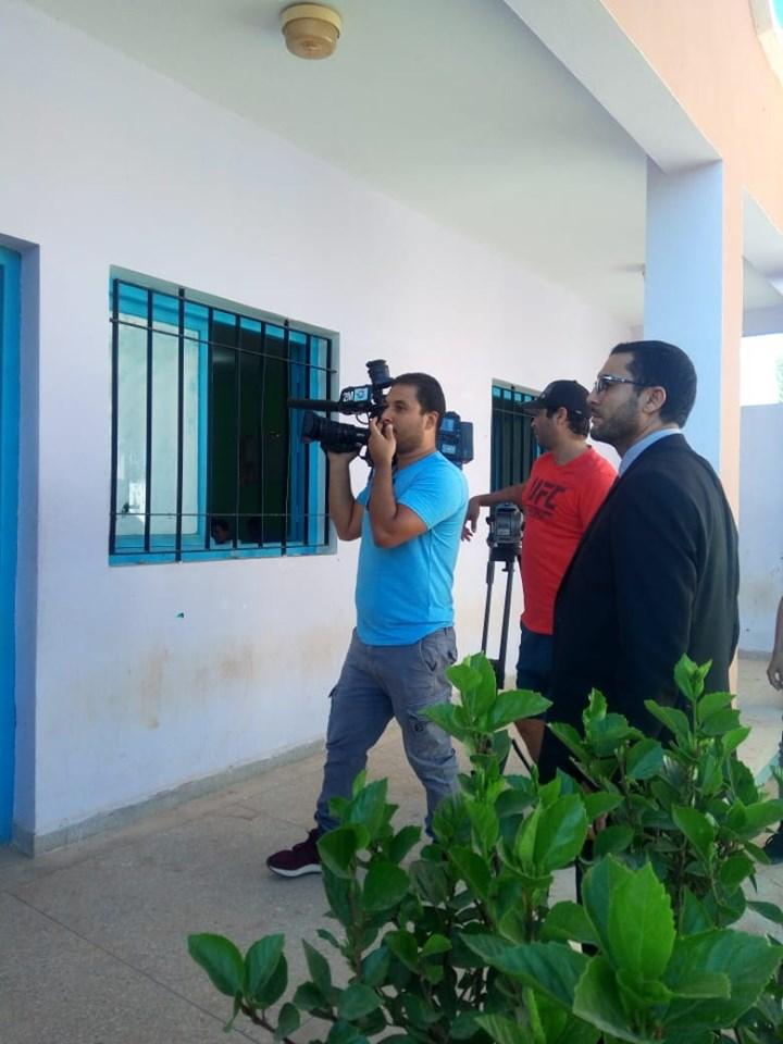 طاقم صحفي من القناة الثانية في ضيافة الثانوية التاهيلية ابن خلدون ببونعان